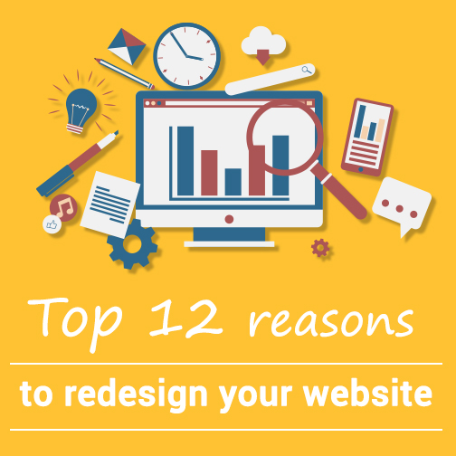 reasons to redesign your website