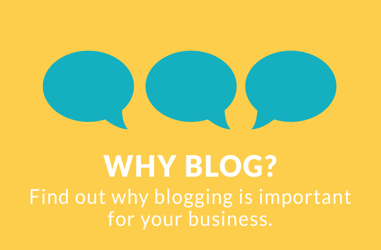 Why blog? Find out why blogging is important.