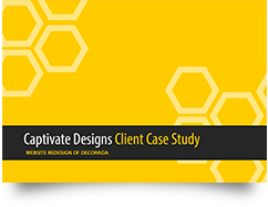 website redesign case study