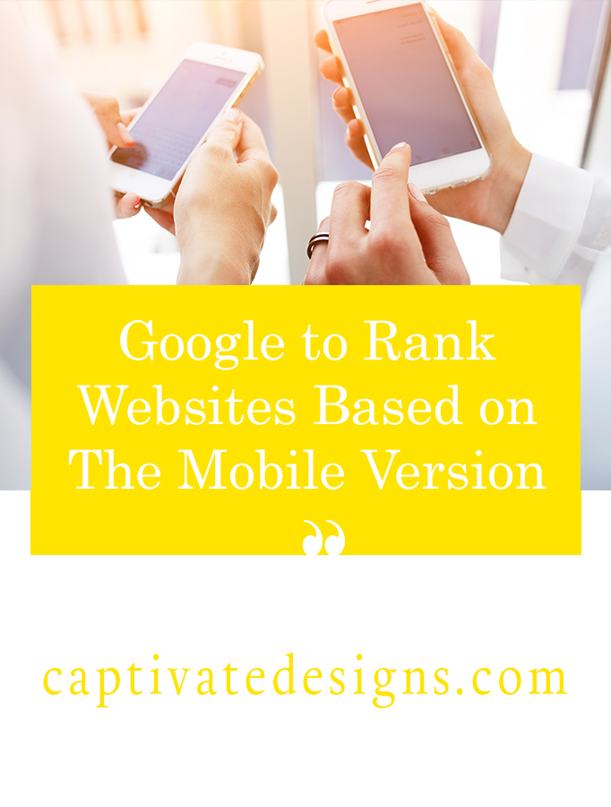 Google is testing a mobile first index that will rank website based on their mobile website content.