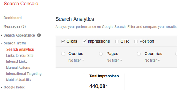 Checking SEO Results in Google Search Console